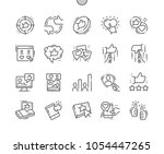 votes well crafted pixel... | Shutterstock .eps vector #1054447265