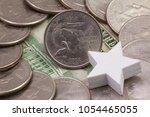 a quarter of louisiana ... | Shutterstock . vector #1054465055