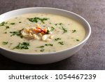 romanian traditional soup  ... | Shutterstock . vector #1054467239