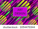 abstract colorful playful... | Shutterstock .eps vector #1054470344
