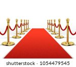 red carpet for celebrity with... | Shutterstock .eps vector #1054479545