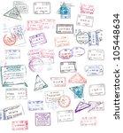 Passport Stamps - Fine Art prints