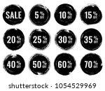 black marketing banners for...   Shutterstock .eps vector #1054529969