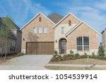 brand new two story residential ... | Shutterstock . vector #1054539914