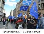 edinburgh  scotland   march 24... | Shutterstock . vector #1054545935