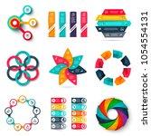 vector infographics design... | Shutterstock .eps vector #1054554131