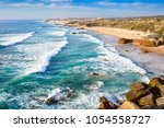 amazing cliff rocks on the west ... | Shutterstock . vector #1054558727