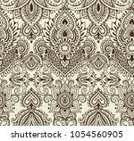 vector seamless pattern with... | Shutterstock .eps vector #1054560905