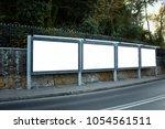 empty   blank outdoor...   Shutterstock . vector #1054561511
