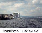 view of bosphorus strait in...   Shutterstock . vector #1054561565