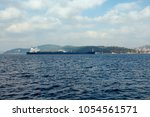 view of dry cargo vessel...   Shutterstock . vector #1054561571