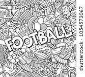 cartoon cute doodles hand drawn ...   Shutterstock .eps vector #1054573067