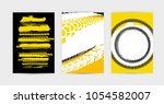 vector auto posters template.... | Shutterstock .eps vector #1054582007