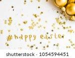 luxury easter celebration... | Shutterstock . vector #1054594451