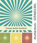 retro rays comic background... | Shutterstock .eps vector #1054601381