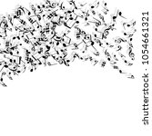vector confetti background... | Shutterstock .eps vector #1054661321