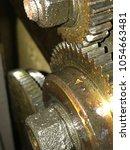 gears background industrial | Shutterstock . vector #1054663481