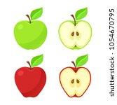 vector illustration in flat... | Shutterstock .eps vector #1054670795