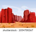 vector illustration of wild... | Shutterstock .eps vector #1054700267