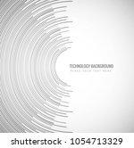 modern creative technology... | Shutterstock .eps vector #1054713329