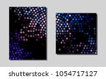 light blue  redvector layout...