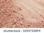 dry mask of clay powder.... | Shutterstock . vector #1054733894