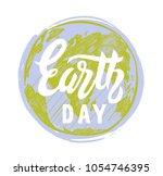 earth day vector 22 april...   Shutterstock .eps vector #1054746395