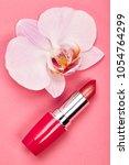 fashionable women's cosmetics... | Shutterstock . vector #1054764299