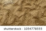 abstract pattern caused by sand ... | Shutterstock . vector #1054778555