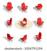 vector set of illustration of... | Shutterstock .eps vector #1054791194