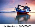 Thai Fishing Boat Used As A...