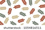 oat vector pattern. free space... | Shutterstock .eps vector #1054816511
