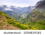 scenery near curral das freiras ... | Shutterstock . vector #1054819181