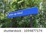 schin op geul   netherlands  ... | Shutterstock . vector #1054877174