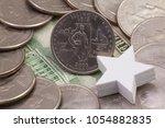 a quarter of illinois  quarters ... | Shutterstock . vector #1054882835