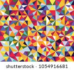 abstract seamless pattern of... | Shutterstock .eps vector #1054916681
