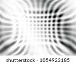 abstract halftone wave dotted... | Shutterstock .eps vector #1054923185