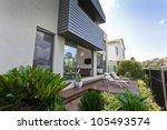 modern australian house facade... | Shutterstock . vector #105493574