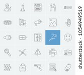 package icons set with pill ...