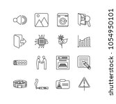 package icons set with...