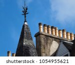 rooftop  edinburgh   march 23 ... | Shutterstock . vector #1054955621