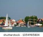 mikolajki  warmian masurian... | Shutterstock . vector #1054985804