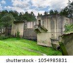 lesniewo gorne  warmian... | Shutterstock . vector #1054985831