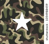 seamless military camouflage... | Shutterstock .eps vector #1054988459