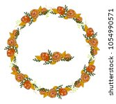Summer Wreath With With Bright...