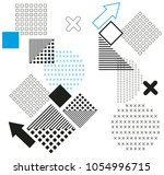 minimalist geometric modern...   Shutterstock .eps vector #1054996715