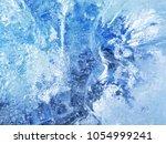 textured ice blue frozen rink... | Shutterstock . vector #1054999241