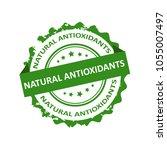 natural antioxidants grunge... | Shutterstock .eps vector #1055007497