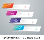 infographics design vector and...   Shutterstock .eps vector #1055014115