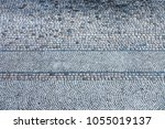 cobble stones pattern from top... | Shutterstock . vector #1055019137